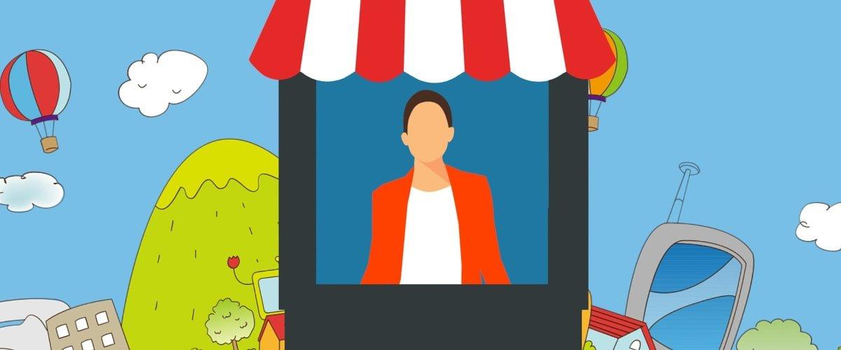promoter nei centri commerciali per scopi promozionali